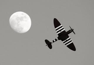 220E9441  Rushton Spitfire BW