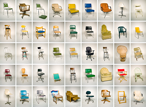 Every Chair At the Visual Studies Workshop by Luke  Strosnider