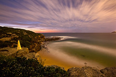The Obelisk 2 (Mark Seabury) Tags: ocean sky beach water clouds sunrise dawn waves seascapes sydney australia nsw obelisk beaches oceanpool curlcurl northcurlcurl oceanbaths