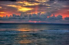 Tsilivi Sunrise (RobW_) Tags: 1025fav sunrise wednesday ilovenature cloudy may greece 2008 hdr zakynthos tsilivi may2008 diaryphoto diamondclassphotographer flickrdiamond seasunclouds mdpd2008 mdpd200805 07may2008