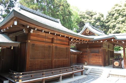 A Shrine Near Kyoto Center