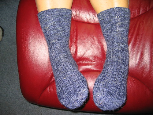 Conwy Socks, finished
