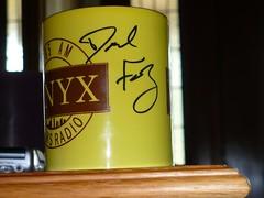 My Fake Newsradio Mug Autographed By Dave Foley