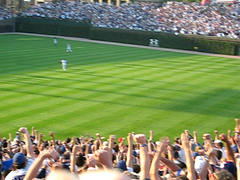 Cubs Clinch 2008 NL Central Division (mikepix) Tags: video baseball cubs wrigleyfield 2008 celebrate itsgonnahappen gocubsgo