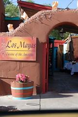 Los Mayas Exterior 1 (The Real Santa Fe) Tags: losmayas santaferestaurant