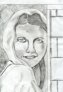 Women - Pencil Drawing