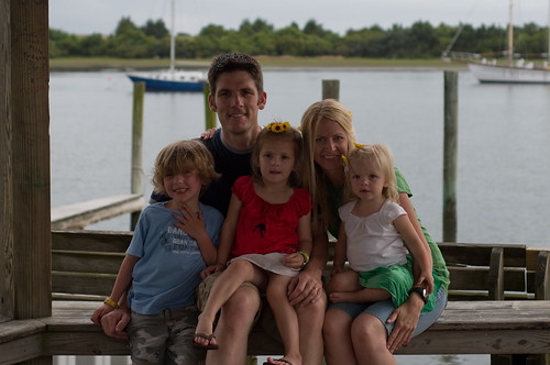 Family picture in Beaufort