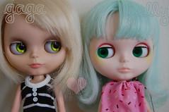 My 2 custom girls :)