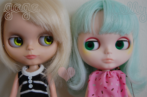 My 2 custom girls :)