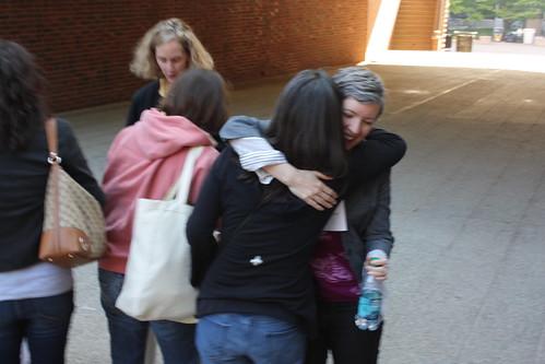 Me hugging Tasha