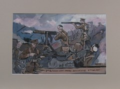 ww1 durham light infantry at hooge (Soren's WW1 paintings & drawings) Tags: light infantry durham ww1 hooge