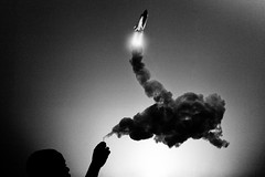 After Burn (Paul Octavious) Tags: smoke shuttle matches afterburn bwdreams puffinclouds