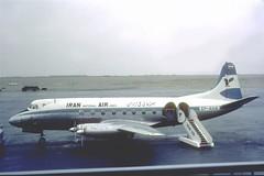 IranAir, EP-AHA, Vickers Viscount 782D, cn 297 (AlainDurand) Tags: aviation airlines iranair airliners airtransport vickers worldairlines vickersviscount middleeasternairlines propeliners epaha