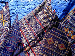 Chefchaouen is... Blue! (Kiky01) Tags: africa blue colour wall canon amazing geometry morocco marocco medina chaouen carpets chefchaouen moroccan rif cultur bluecolour passionphotography golddragon diamondclassphotographer flickrdiamond somethingblueinmylife excapture betterthangood italianflickrworld