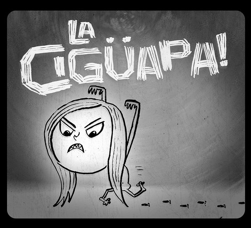 Illustration Friday: Superstition: La Cigüapa