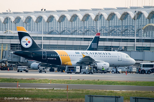 Pittsburgh Steelers Airbus
