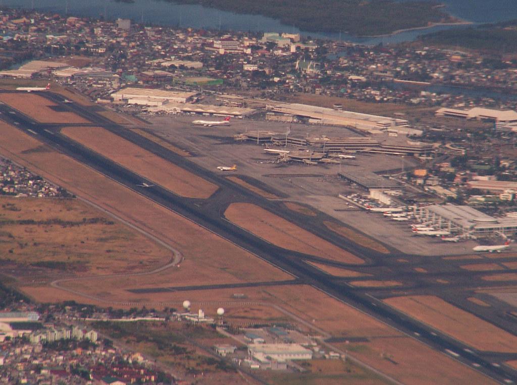 Departing Manila
