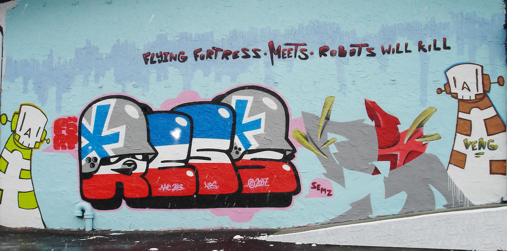 [Graff / Toiles / Stickers] FLYING FORTRESS 2081910691_9afba3b08d_b