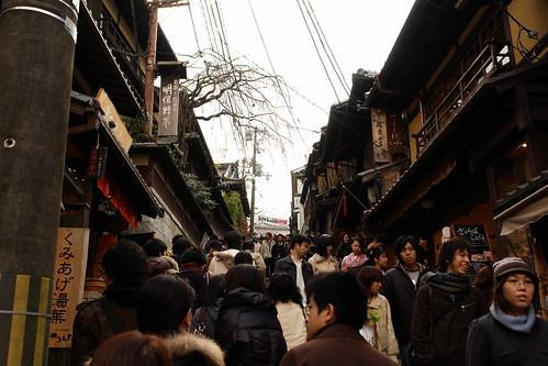 Ascent to Kiyomizudera Temple