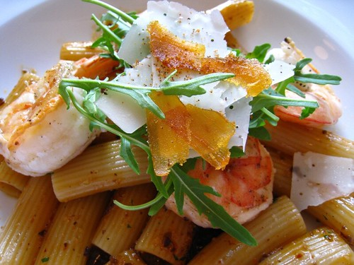 Rigatoni Pasta with Crustacean Oil.JPG