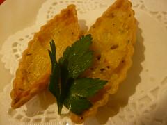 キタアカリ(ポテト)とオニオンのタルト