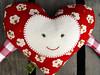 heart_02 (revoluzzza) Tags: baby berlin cherry toy design kid doll child heart designer pit plush pillow dolly herz lapin handcraft petit puppe muñeca poupée stofftier lièvre revoluzzza kindersachen sa2face