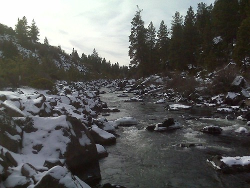 Deschutes River, New Years Day 2008