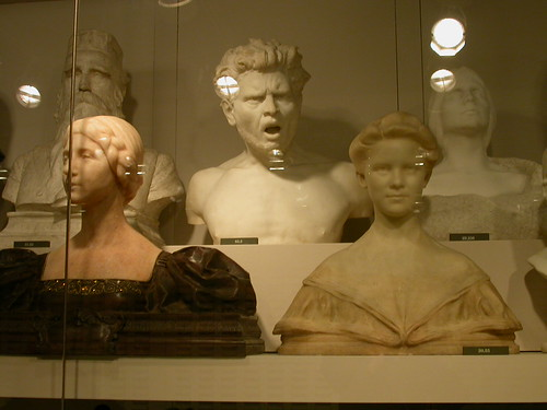 American wing, artifacts