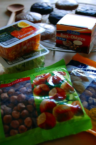 Lebkuchen Ingredients