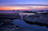 Half Moon Bay Graduated ND Filter Study #1 (After Dark Photo) Tags: ocean longexposure sunset beach reflections pacificocean halfmoonbay movingwater ndfilter diamondclassphotographer flickrdiamond