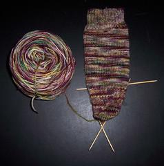 Plucky Knitter - Palatial Sock