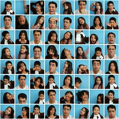 The silly faces project
