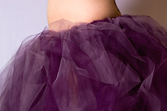 Side View of the 'Tu (.tara.) Tags: woman selfportrait me purple lavender waist utata athome sideview tutu inthebasement 365reject