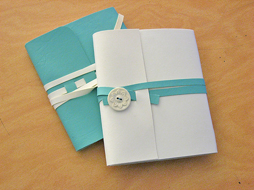 Soft Cover Wrap Around Notebooks!