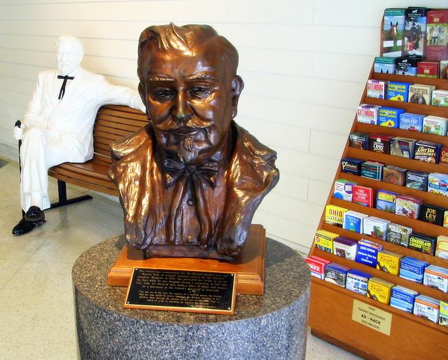 Bust of Col. Sanders