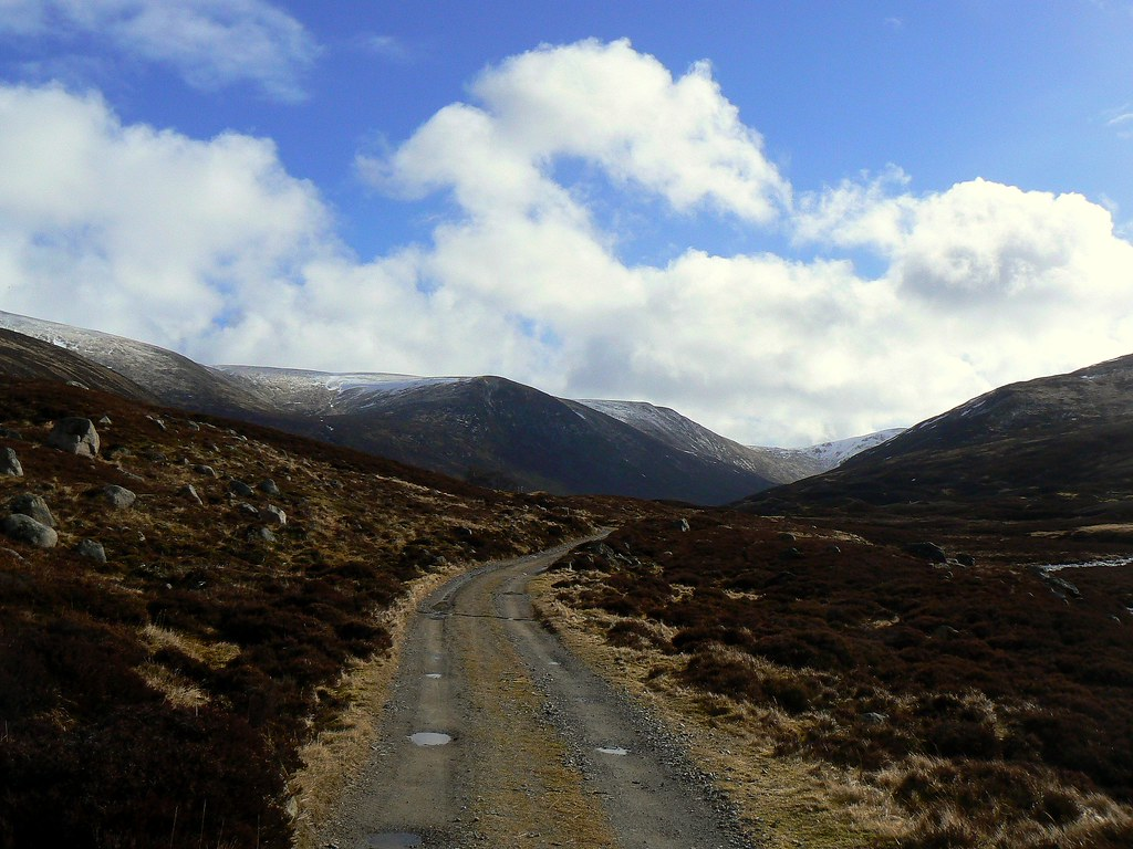 Top of Glen Callater