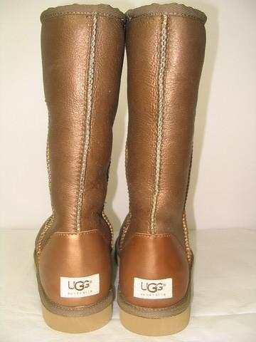 UGG Australia Metallic Gold Classic Tall Boots