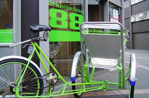 Cycle Rickshaw – Restaurant 88