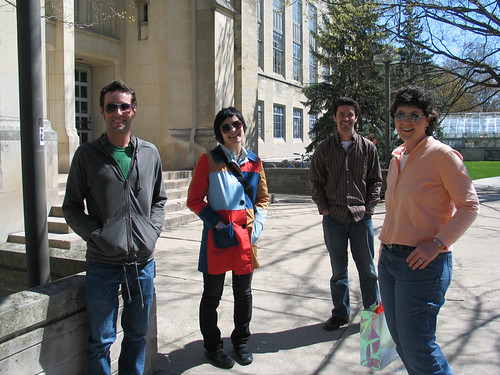 080416. outside jordan hall - the lunch club.