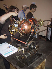 6022 - Maker Faire, 2008 (DangerRanger) Tags: steampunk makerfaire makerfairebayarea makerfaire2008 makerfairebayarea2008 dihemisphericchronaetheragitator