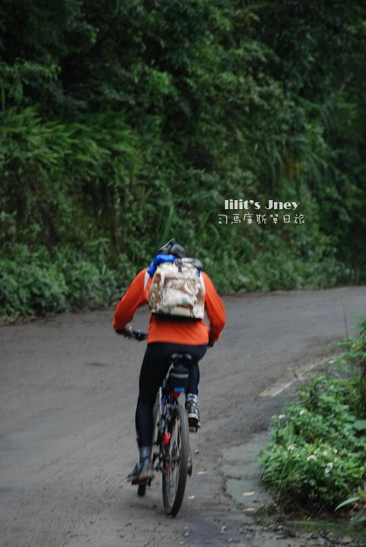 單車上山的勇士