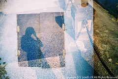(J.R-) Tags: film print iso400 doubleexposure taiwan taipei 24mm 135 c41 f19 naturablack tokyogratzy vegas400