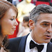 Oscar 2008, George Clooney breaks off with Sarah Larson