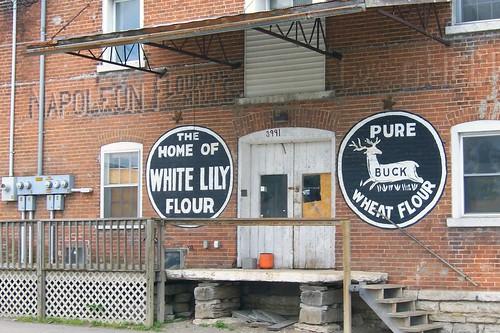 Flour mill, Napoleon, Indiana
