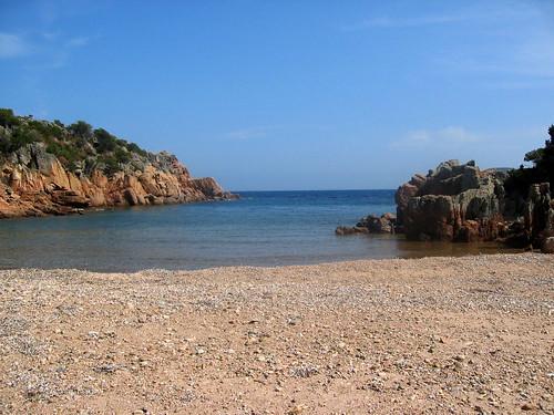 Cala d'U Marescu : la plage et la calanque