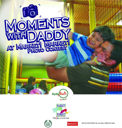 Moments with Daddy Photo Contest at Market Market