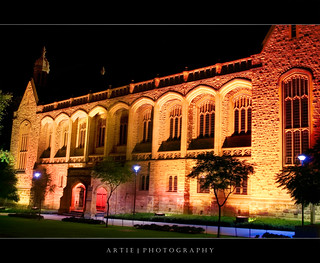 Bonython Hall - Night Shot