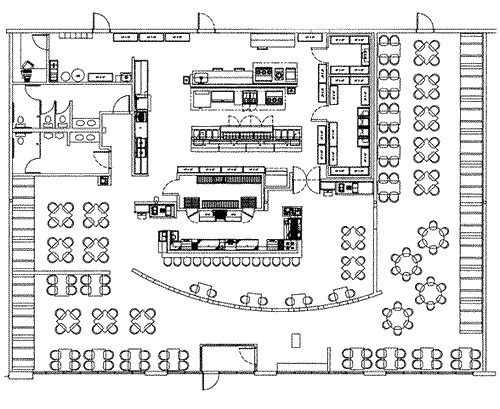 Restaurant Kitchen Layout Design restaurant floor plans architecture giovanni italian restaurant