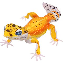 Canon Papercraft: Animal Paper Model - Leopard Gecko Free Template Download (PapercraftSquare) Tags: animalpapermodel canonpapercraft leopardgecko