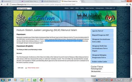 Hukum mlm